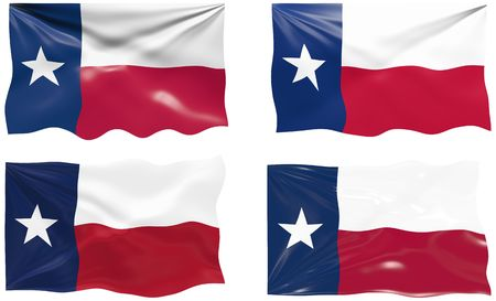 Great Image of the Flag of Texas Stock Vector - 6874516
