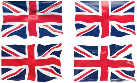 Great Image of the Flag of the united Kingdom Stock Vector - 6874860