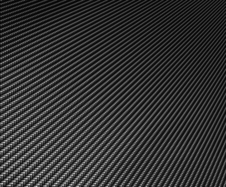 fibre: excellent black carbon fiber Stock Photo