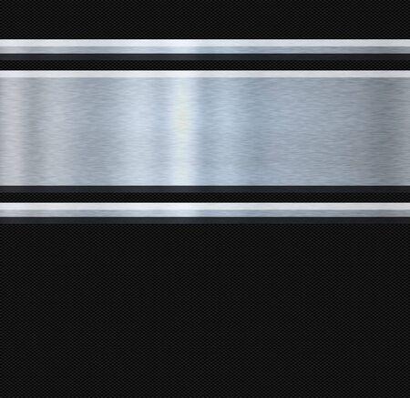 fibra de carbono: imagen abstracta de fibra de carbono de acero inoxidable y