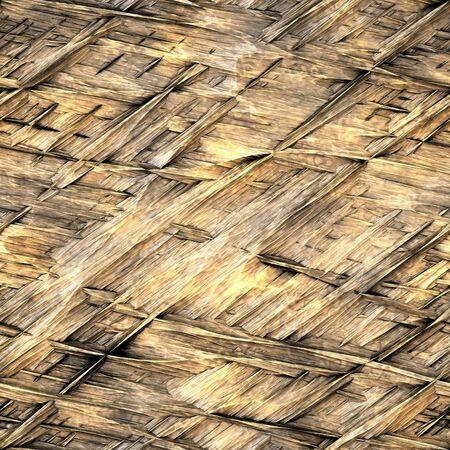 thatch: Straw Thatch Background