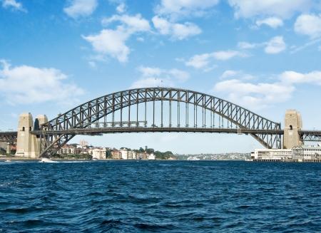 a great image of sydney harbour bridge  photo