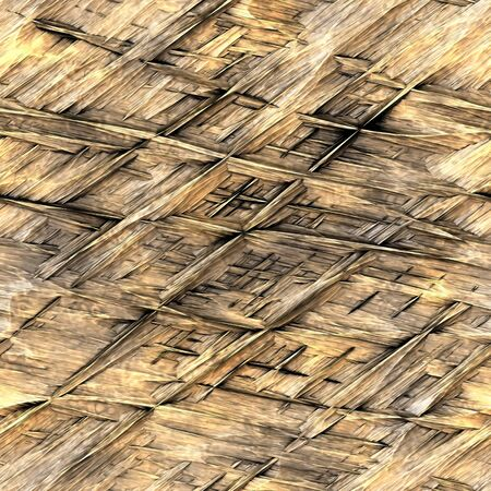thatched: background illustration of straw thatch