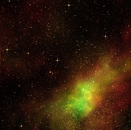 great image of space or a starry night sky  Stock Photo - 7828928