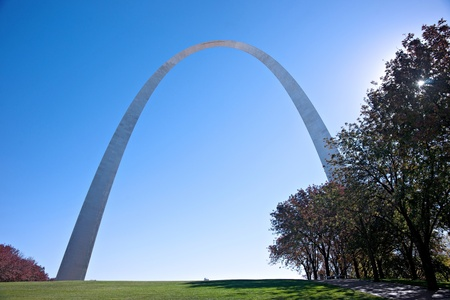 gateway memorial arch in saint louis missouri Editorial