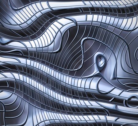 plating: image of an abstract steel metal background