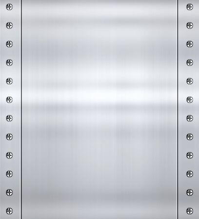 plating: great shiny alloy or steel metal background