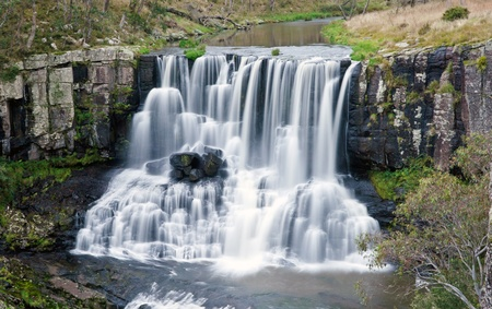 beautiful ebor falls waterfall in NSW australia photo