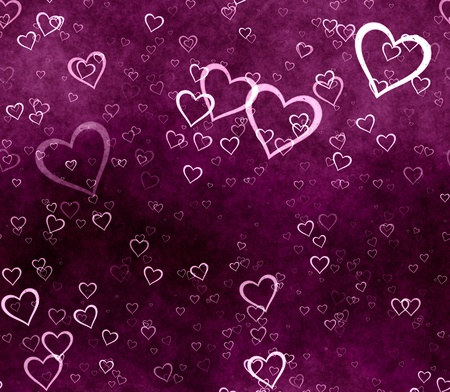 love hearts Standard-Bild