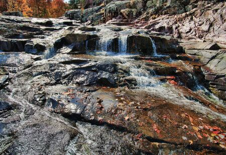 waterfall cascade in missouri photo
