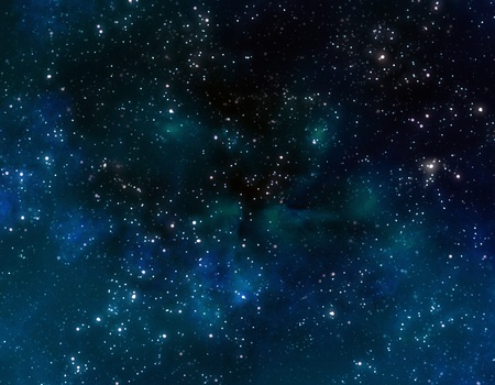 starry deep outer space or night sky