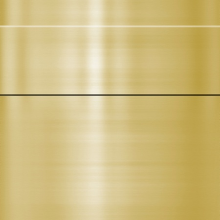 finely: very finely brushed gold metal background texture Stock Photo