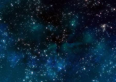 cielo estrellado: estrellas en el espacio exterior