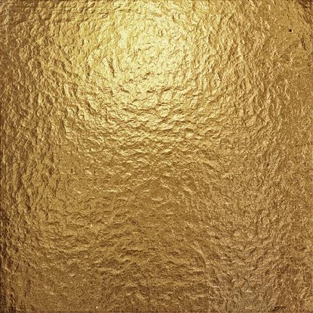 fine crinkled gold aluminium foil photo