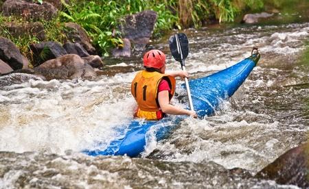 canoa: piragüismo de aguas bravas