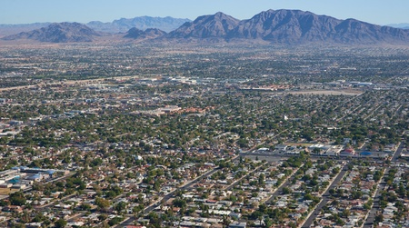 suburbs: las vegas suburbs Stock Photo