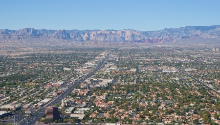 las vegas suburbs Stock Photo - 13616604