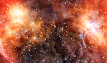 nebula: nebula gas cloud in deep outer space