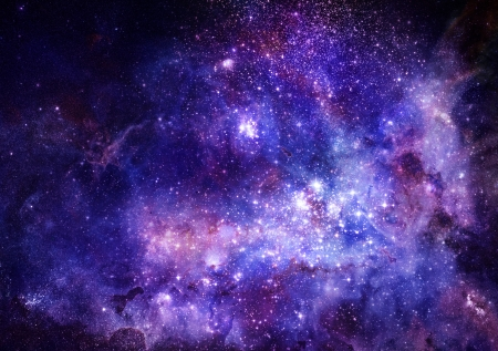 nebula gas cloud in deep outer space Stock Photo - 14407715