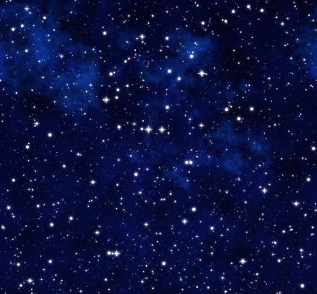 starfield: starry sky at night