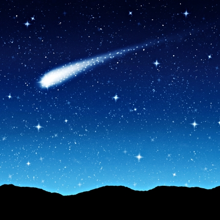 cielo estrellado: cielo estrellado por la noche