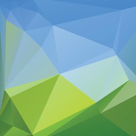 三角形の背景、ベクトル多角形アート、柔らかい色の抽象的なイラスト。Web モバイル インター フェース テンプレート。コーポレート サイトのデザインを旅行します。ぼやけています。風景です。Instagram のスタイル。 写真素材 - 40192236