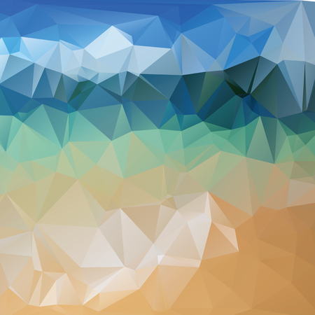 untamed: Triangle background, vector polygon art, soft colored abstract illustration. Web mobile interface template. Travel corporate website design. Blurred. Landscape. Instagram style.