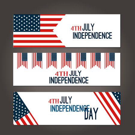 american hero: Happy 4th of July - Independence Day Vector Design - July  sticker cards in vector format