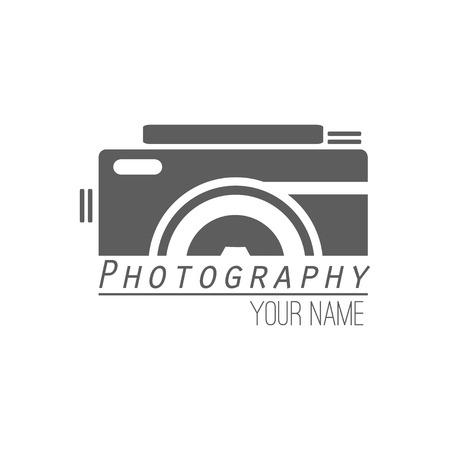 写真のロゴのテンプレートのベクター コレクション。Photocam ロゴタイプ。写真のビンテージ バッジとアイコン。現代のマスメディアのアイコン。写  イラスト・ベクター素材