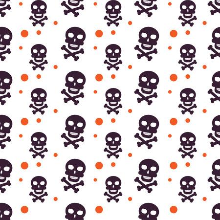 Conjunto De Fondos De Halloween. Colección De Patrones Sin Fisuras ...