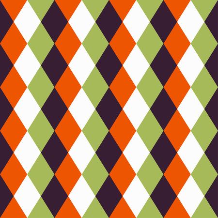 Glücklicher Halloween-Hintergrund. Nahtloses Muster. Sammlung nahtlose Muster in den traditionellen Feiertagsfarben. Standard-Bild - 44353671