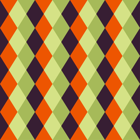 Happy Halloween Background. Seamless pattern. Collection of seamless patterns in the traditional holiday colors.