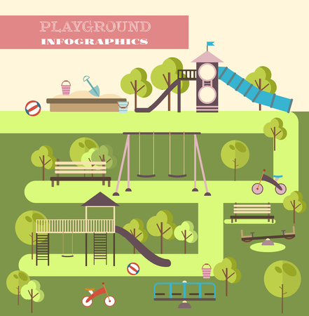 Playground infographic elements