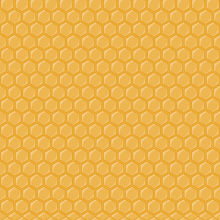 honey comb: Seamless geometric pattern with honeycombs. illustration honey comb and honeycomb seamless pattern. Golden honey comb bee background sweet wax pattern texture beeswax shape. Illustration