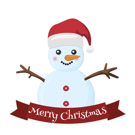 Snow Holiday Cold Celebration Snowman December Cartoon Symbol