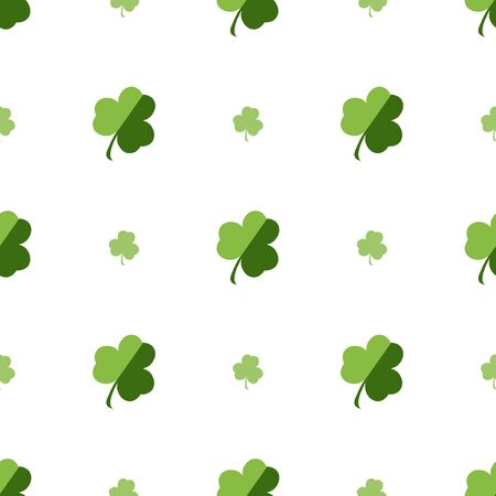 seamless clover: Vector seamless clover pattern. Illustration