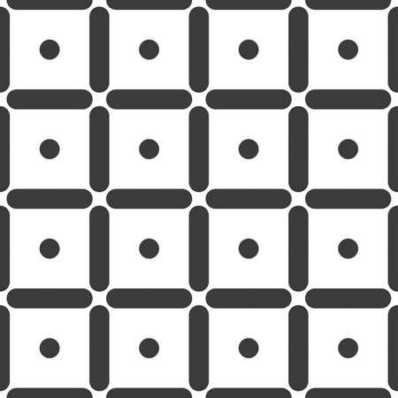 Geometric seamless pattern. Vector abstract line fashion design geometrical print background illustration. Geometry monochrome stylish tile backdrop print fabric wallpaper decoration