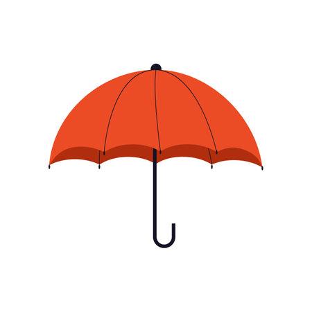 Red Opened umbrella