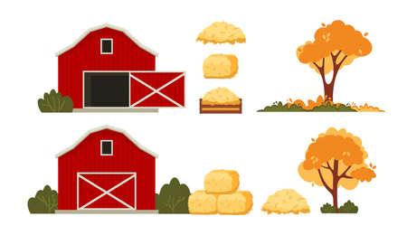 Red barn house Farm