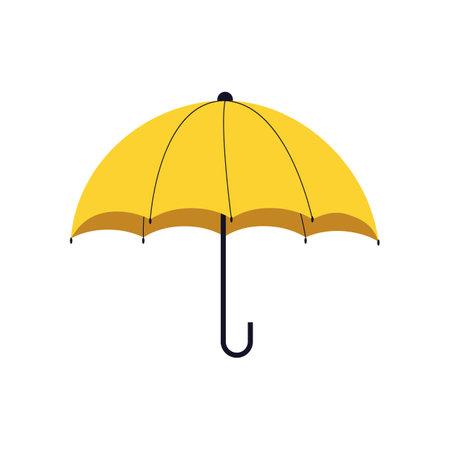 Yellow Opened umbrella