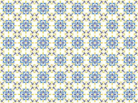 Azulejos Portuguese tile floor pattern