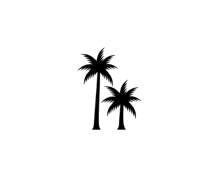 coconut tree icon.vector illustration