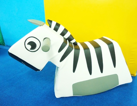 Zebra Toys and learning of children                        photo
