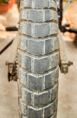 maschine: Closeup motocross bike - Details