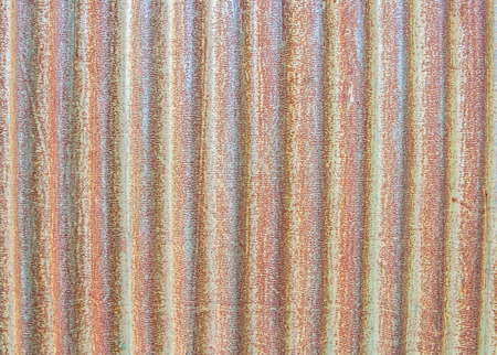 close up of rusty metallic surface for design
