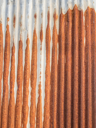 oxidated: Close up of rusty metallic surface for design