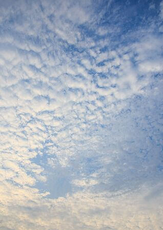 White clouds in the blue sky background Stock Photo - 39782303