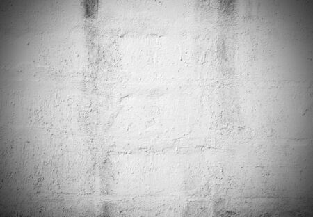textured wall: Black and White grunge brick wall background for any design