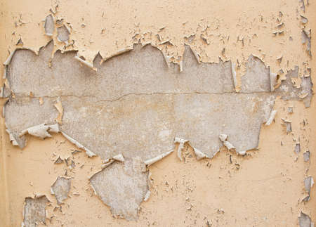 desing: Damaged plaster concrete background wall - textured grunge background for desing