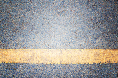 Asphalt lined road surface background with copy space for design